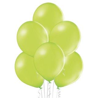 100 Luftballons Grün-Apfelgrün Standard ø23cm