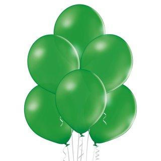 100 Luftballons Grün-Dunkelgrün Pastel ø23cm
