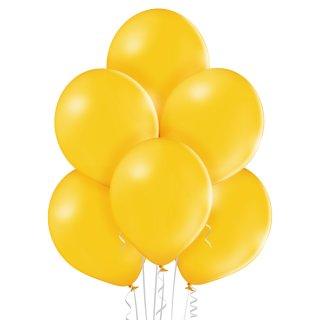 100 Luftballons Gelb-Ocker Pastell ø23cm
