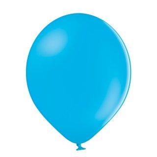 100 Luftballons Blau-Cyan Standard ø23cm