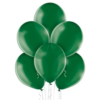 100 Luftballons Grün Kristall ø23cm