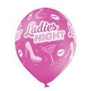 6 Luftballons Ladies Night Standard ø30cm