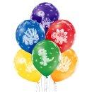 6 Luftballons Dinosaurier Pastell ø30cm...