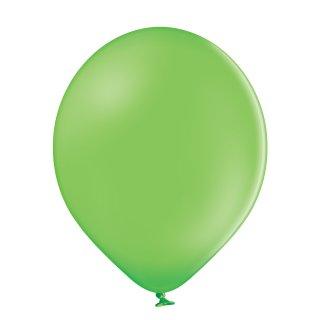 100 Luftballons Grün-Limonengrün Standard ø12,5cm
