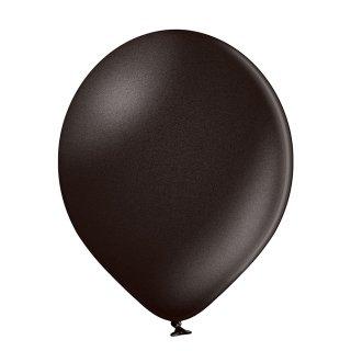 100 Luftballons Schwarz Metallic ø13cm