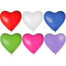 Riesenballon Herz Bunt gemischt ø100cm