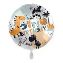 Luftballon Dino Birthday Folie ø43cm