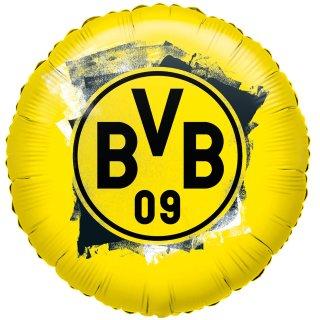 Luftballon BVB Dortmund Folie ø45cm