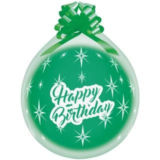 Verpackungsballon Happy Birthday ø45cm
