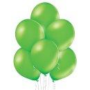 50 Luftballons Grün-Limonengrün Metallic...