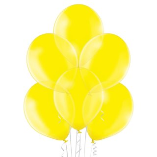 50 Luftballons Gelb Kristall ø30cm