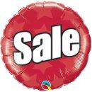 Luftballon Sale Folie ø46cm
