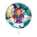 Luftballon Hexe Folie ø43cm