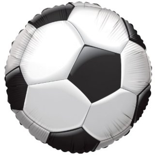 Luftballon Fußball Folie ø45cm