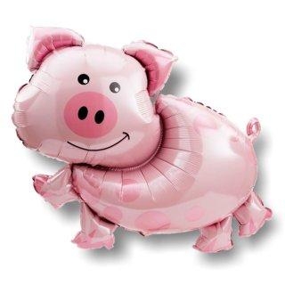 Luftballon Schwein Folie 89cm