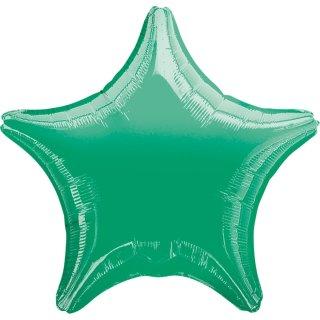 Sternballon Grün Folie ø45cm