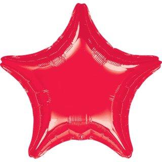 Sternballon Rot Folie ø45cm