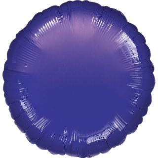 Luftballon Violett Folie ø45cm