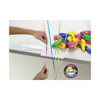 10 Klebestreifen zum befestigen von Ballons