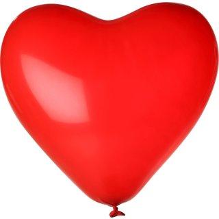 100 Herzballons Rot ø30cm