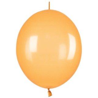100 Kettenballons Orange hell ø28cm