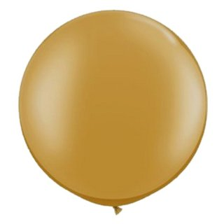 Riesenballon Gold Metallic ø80cm