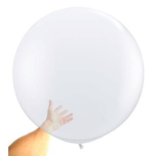 Riesenballons TRANSPARENT DM 80 cm