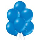 100 Luftballons Blau Metallic ø29cm