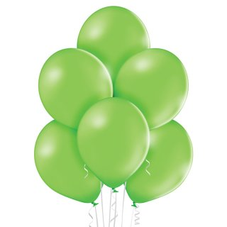 100 Luftballons Grün-Limonengrün Pastell ø30cm