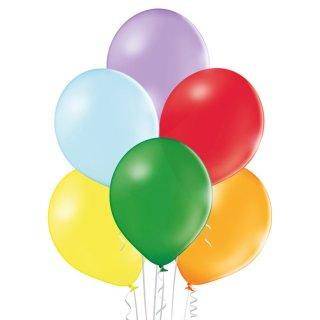 100 Luftballons Mix Pastell ø30cm