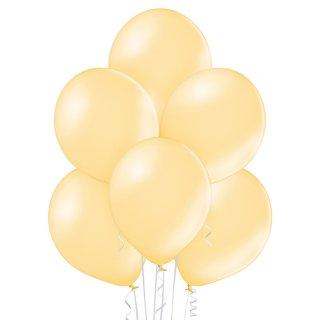 100 Luftballons Orange-Pfirsich Metallic ø29cm