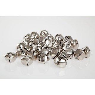 100 Ballongewichte Glöckchen Silber 4g