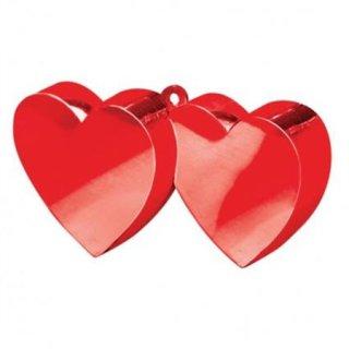 Ballongewicht Herzen ROT 170 g