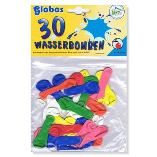 30 Wasserbomben Mix