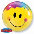Folienballon SMILEY ø55 cm BUBBLE ungefüllt