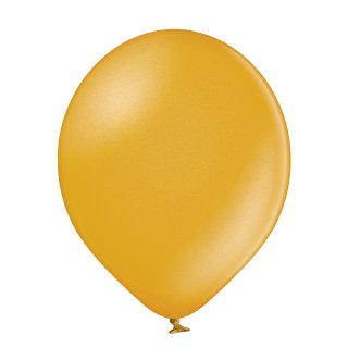 100 Luftballons Gold Metallic ø13cm
