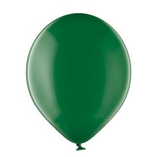 100 Luftballons Grün Kristall ø13cm
