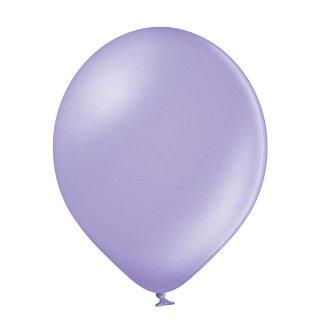 100 Luftballons Violett-Lavendel Metallic ø12,5cm